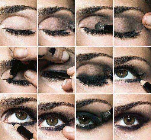 Trucco occhi smokey eyes: il tutorial
