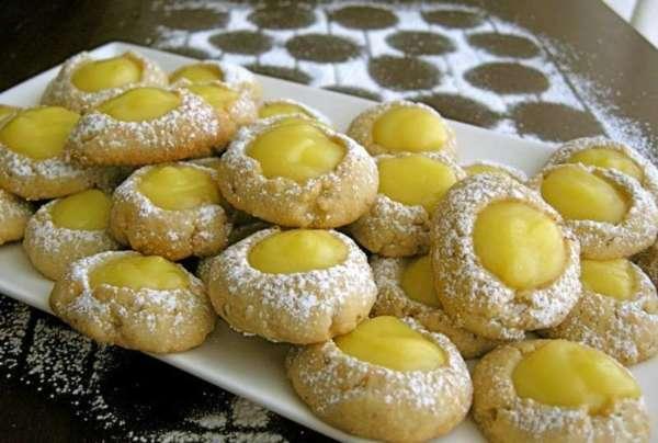 Biscotti alla crema di limone di Franca