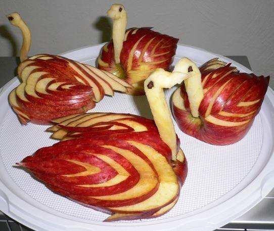 Natale:Decorazioni con la frutta