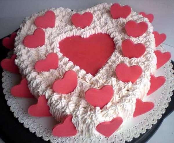 Torta San Valentino..