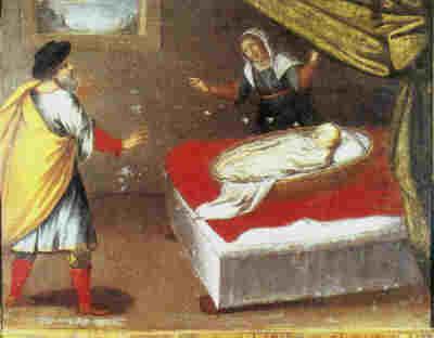 Santa Rita Avvocata dei casi impossibili.. Il miracolo delle Api.