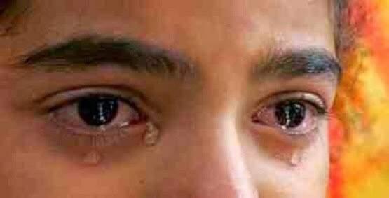 lacrime di ragazzo
