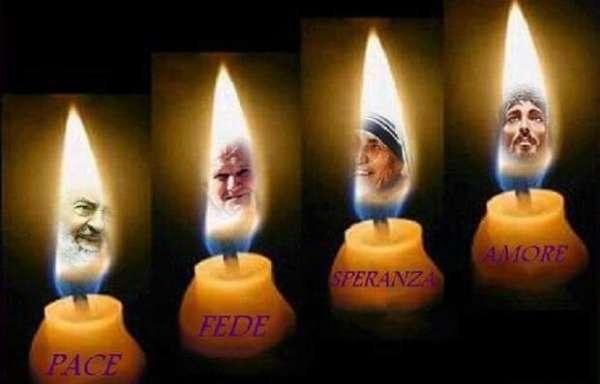 candele  personaggi