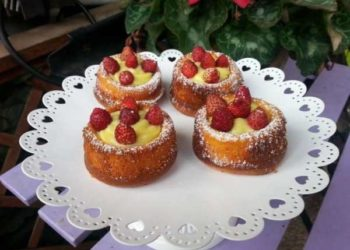 cup cake alle fragole