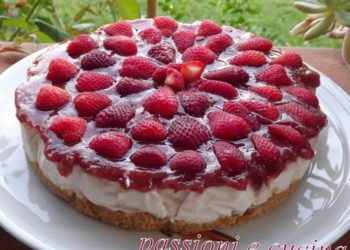 cheesecake-light-fragole