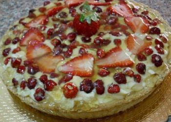 crostata-di-fragole