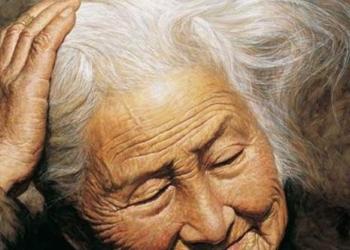 mamma anziana cuore