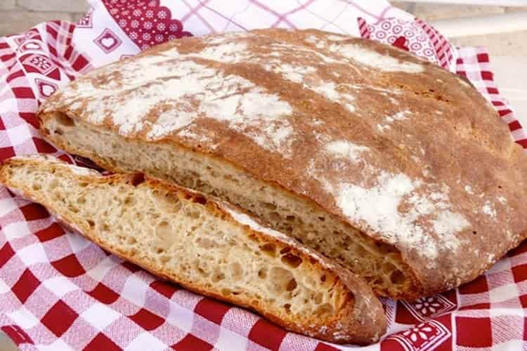 La crosta del pane