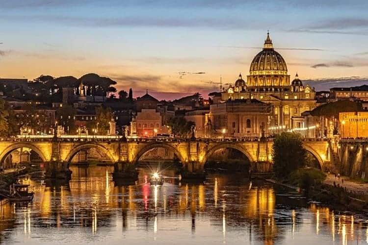 passeggiata spettrale a roma