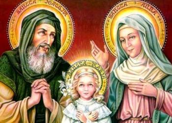 Santa Anna e Gioacchino, la storia dei genitori di Maria