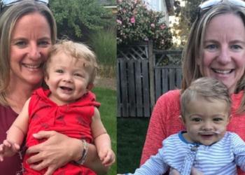 Sarah Harris l'infermiera che ha donato parte del fegato ad un bambino