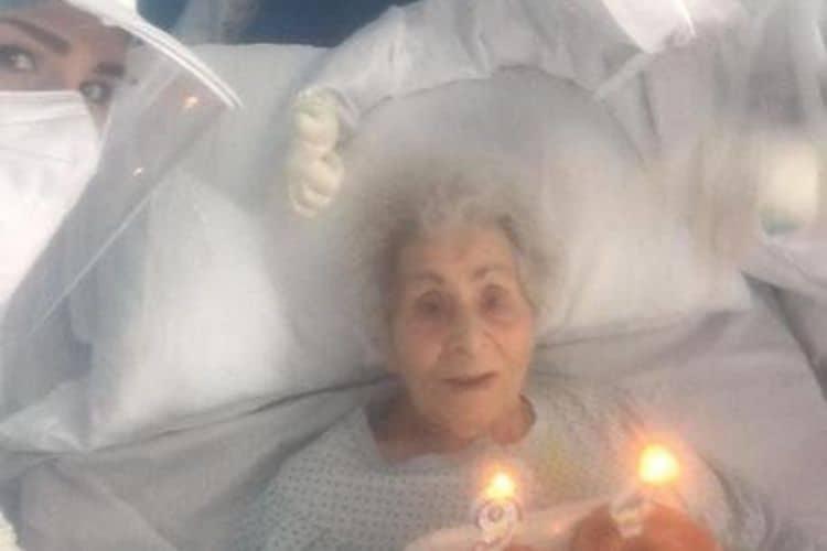 Ricoverata per covid a 94 anni
