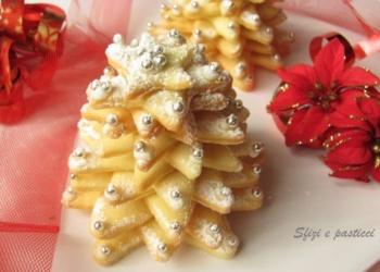 Alberelli di pasta frolla