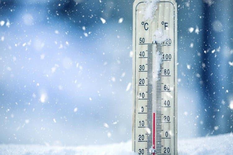 temperature glaciali in arrivo