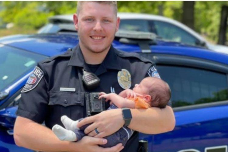 poliziotto salva vita