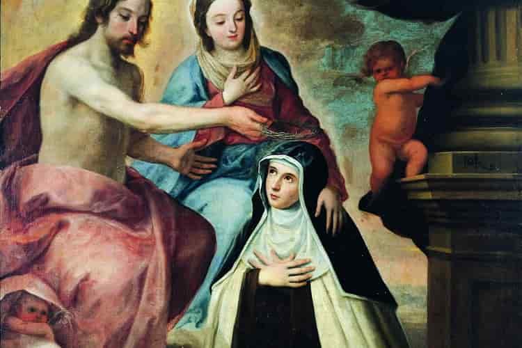 Preghiera a Maria Maddalena de' Pazzi