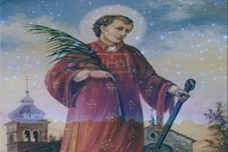 Preghiera a San Lorenzo