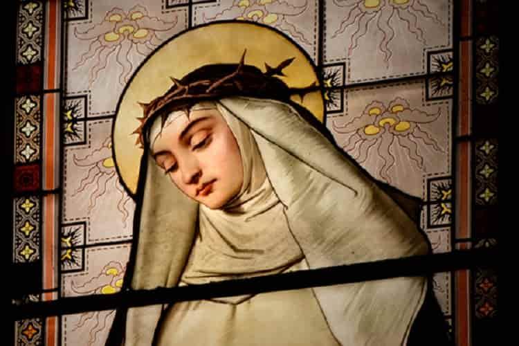 La preghiera a S. Caterina da Siena