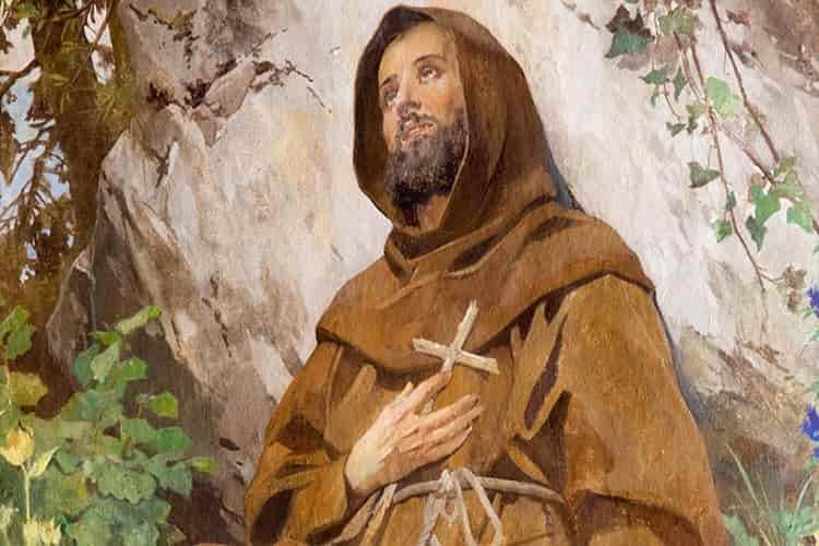 Invoca l'aiuto del poverello d'Assisi